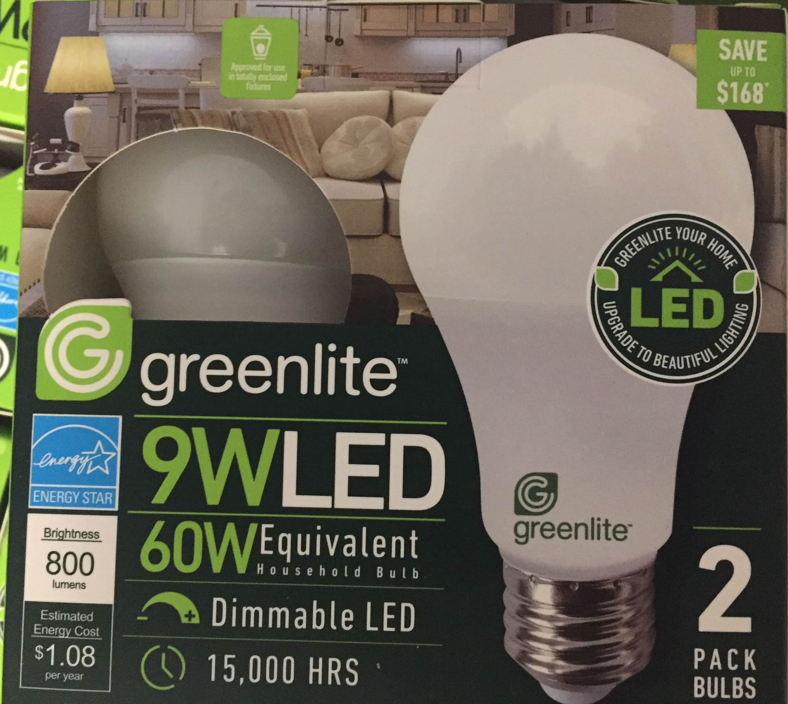 LED, 3K Dimmable Bulbs  (Seattle Area) $0.99