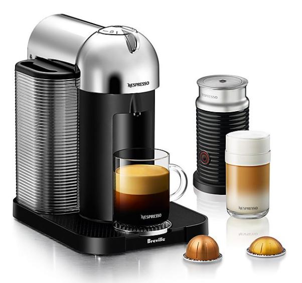Nespresso Machines w/ Aeroccino Milk Frother
