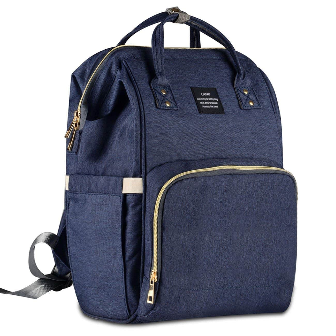 25f3baf7dce HaloVa Diaper Bag Multi-Function Waterproof Travel Backpack Nappy Bags for Baby  Care, Large Capacity, Stylish and Durable, Dark Blue  35.99 - Slickdeals.net
