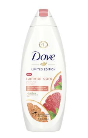 Dove Body Wash Summer Care 22 fl. Oz. $2.45