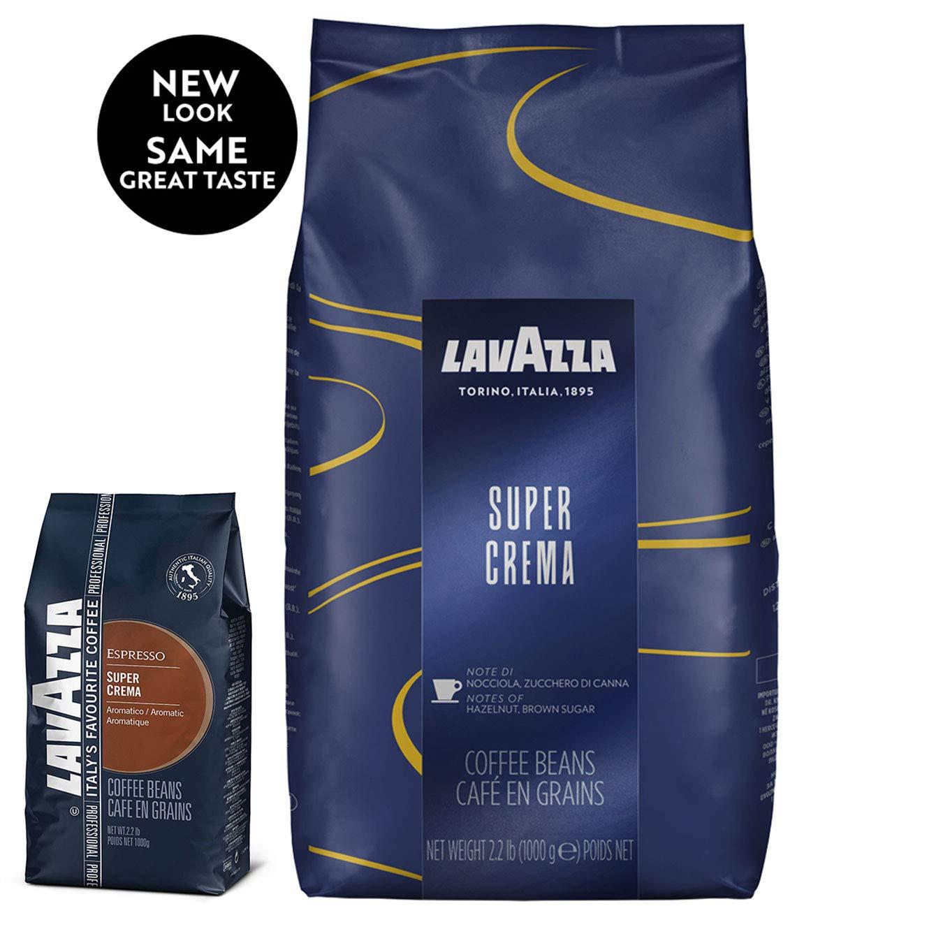 Lavazza Super Crema Whole Bean Coffee Blend, Medium Espresso Roast, 2.2 Pound Amazon $14.84