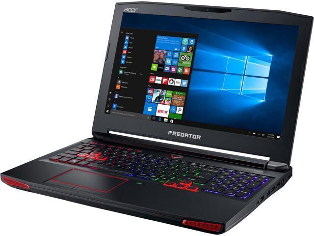 Acer Predator 15 G9-593-735L 15.6; IPS Intel Core i7 7th Gen 7700HQ (2.80 GHz) NVIDIA GeForce GTX 1060 16 GB Memory 1 TB HDD Windows 10 Home 64-Bit Gaming Laptop $1049.99