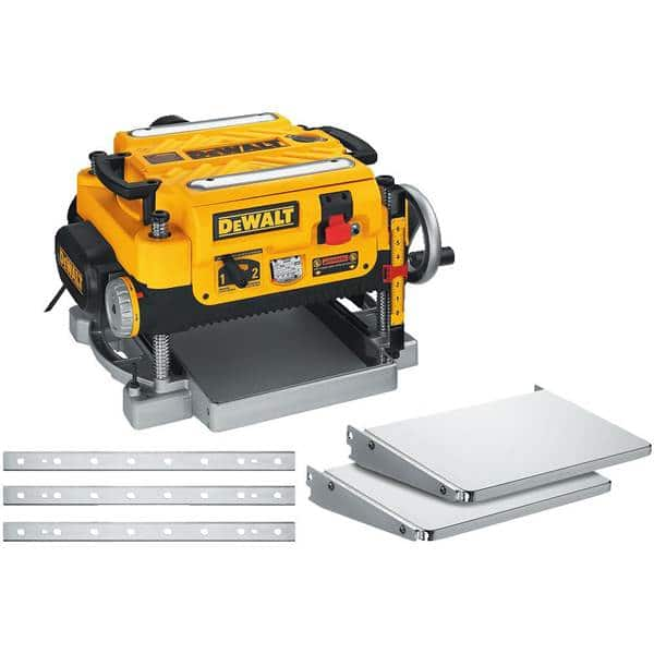 """DW735X Heavy Duty 13"""" Three-Knife, Two Speed Thickness Planer $519"""