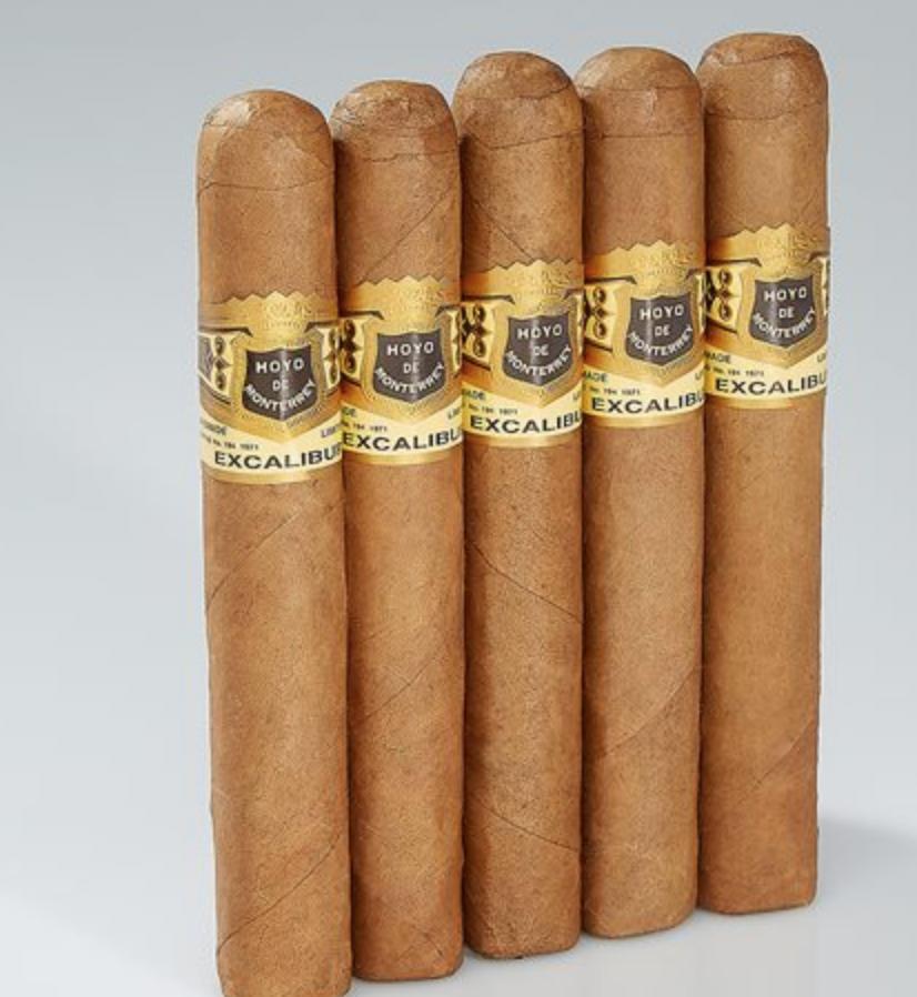 5 Hoyo Excalibur Epicure Cigars $10 + Free Shipping