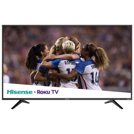 "Hisense 55"" Class 4K Ultra HD (2160P) Roku Smart LED TV (55R6000E) $248 instore only YMMV"