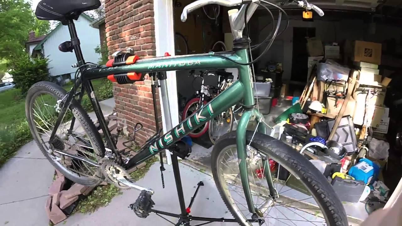 Bike repair stand Aldi B&M $30+tax, wireless bike computer $10 (YMMV)