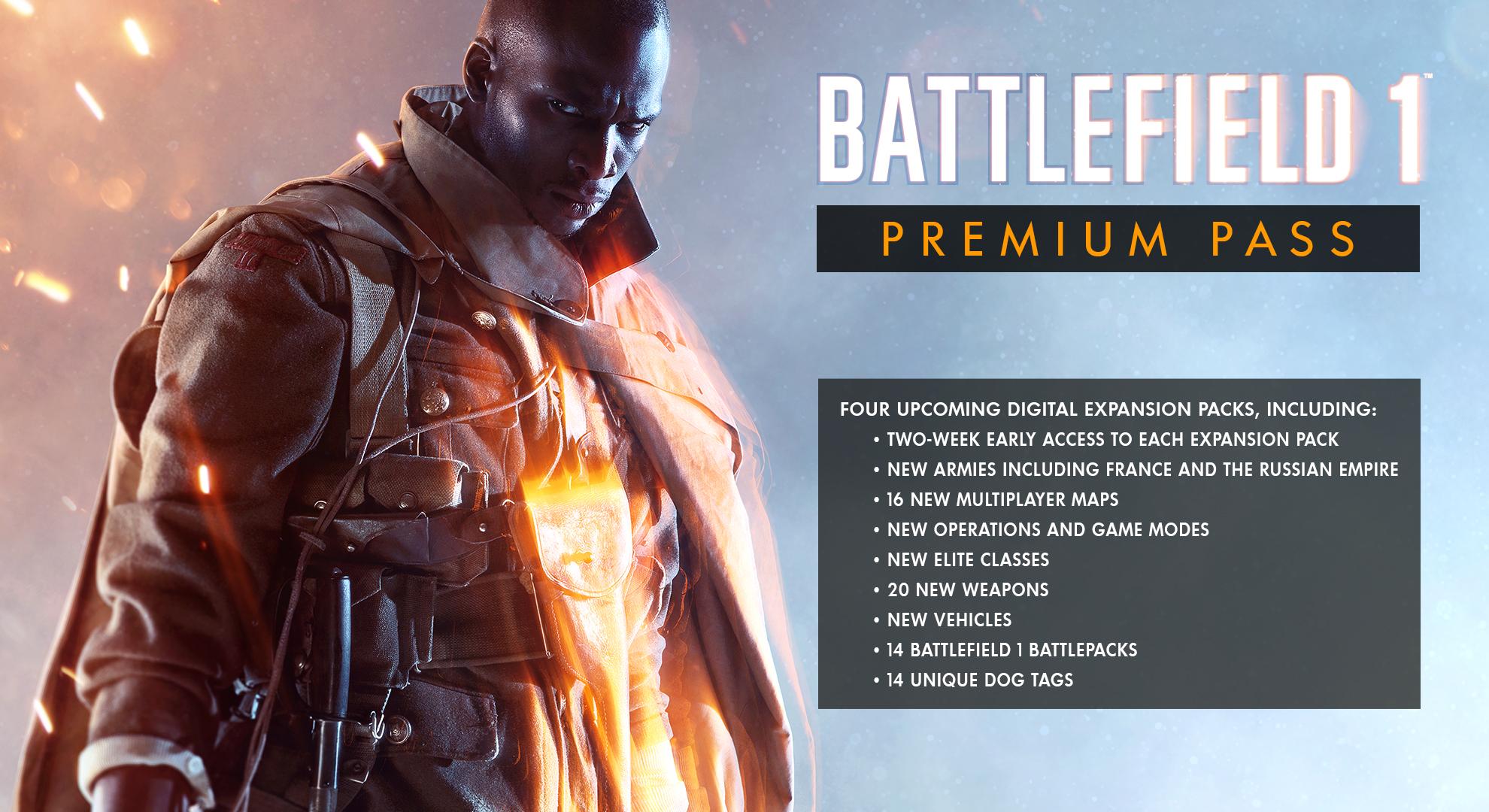 Battlefield 1 Premium Pass Pc