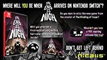 The End is Nigh for Nintendo Switch $18.83 (37%off) @ Amazon.com