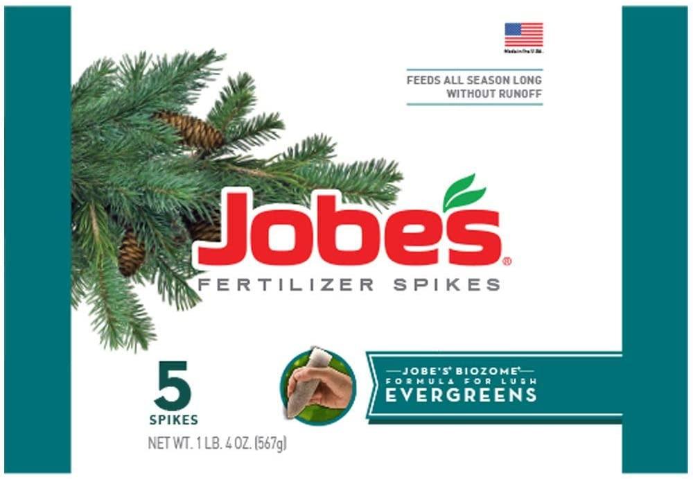 Jobe's 01001 1001 Evergreen Fertilizer Spikes, (5) $2.98 at Amazon