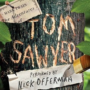 The Adventures of Tom Sawyer audiobook, read by Nick Offerman on Audible, $1.99 w/ FREE Kindle eBook