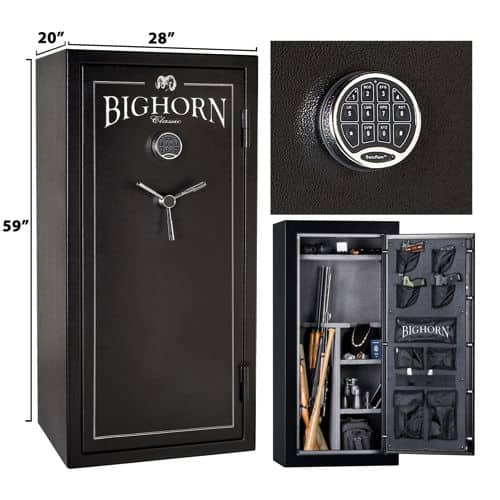 Bighorn 19.1 cu ft Safe 435lbs 30 min fire protection $599 COSTCO