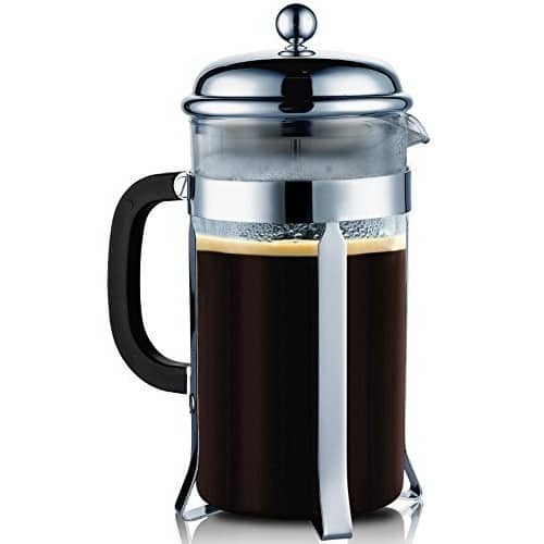 40% off SterlingPro French Coffee Press (Chrome, 1L) for $15.51+ Free Shipping