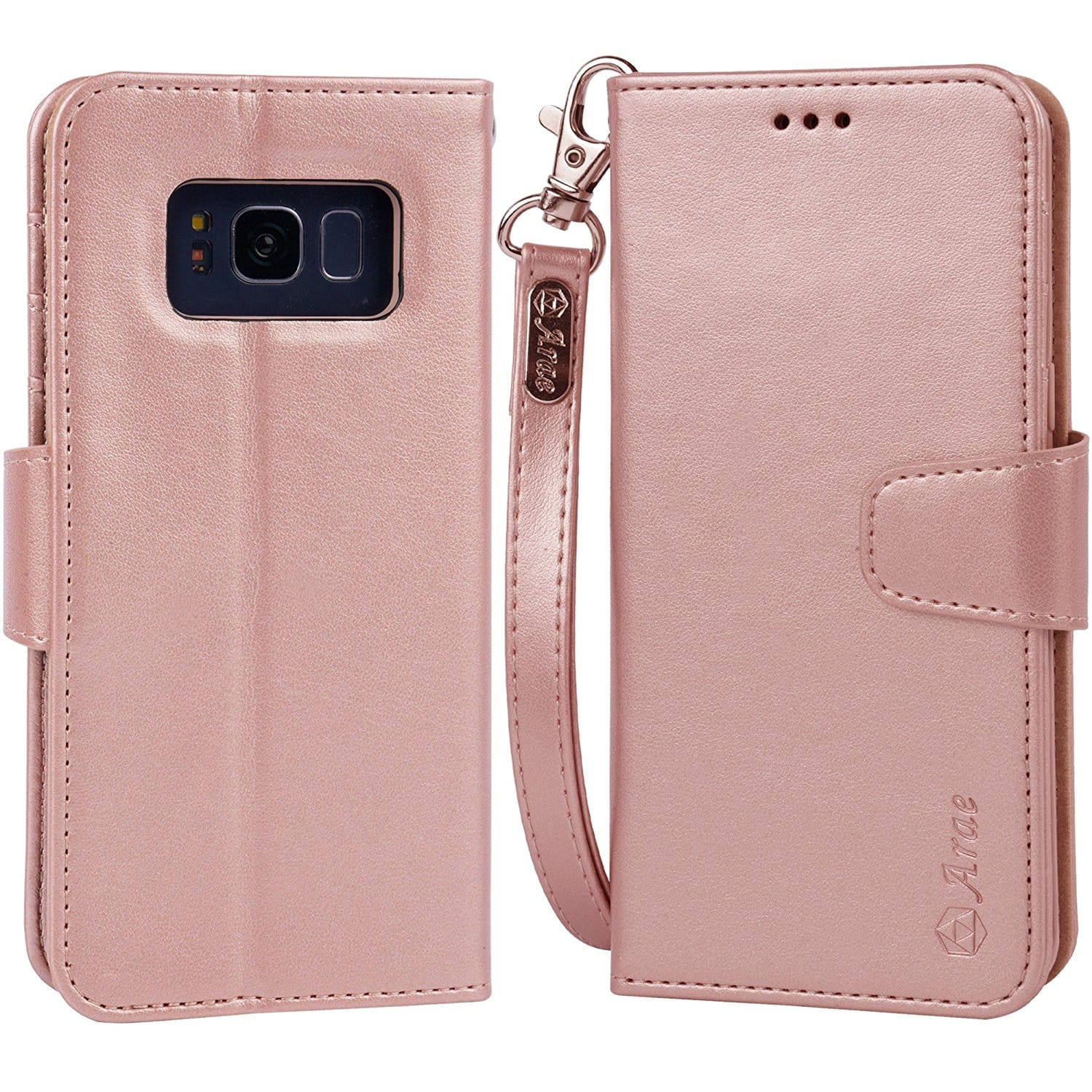 best loved 11072 d7a41 ForOffice | samsung galaxy s8 wallet case amazon