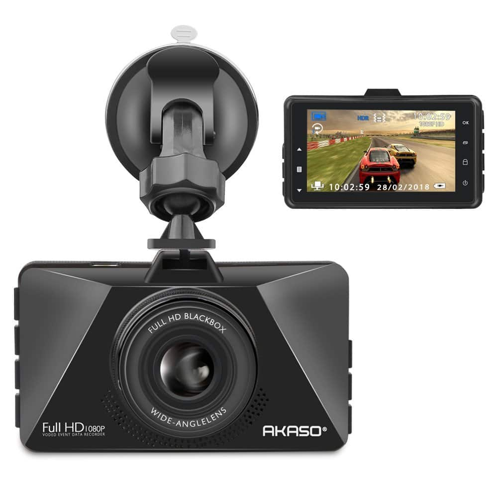 FHD 1080p Dash Cam w/ 3 inch Display, Night Vision, Loop Recording, Parking Monitor, Wide Angle|  $28 + Free Shipping