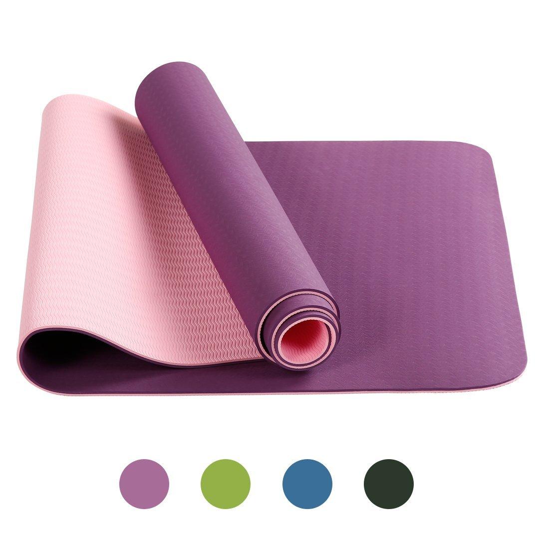 TPE 6mm Anti-Tear Yoga Mat by BLC starting at $16.14 + Free Shipping