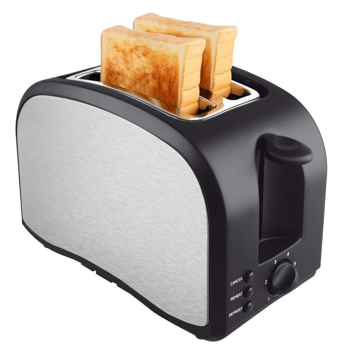 TOBOX Extra-Wide 2 Slice Toaster on sale for $14.00 (50% off) @ Amazon