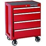 Craftsman 26 in. 4-Drawer Ball Bearing Griplatch Rolling Cabinet Red - Reg. $379.99 on Clearance for $149.88 - Sears/Kmart