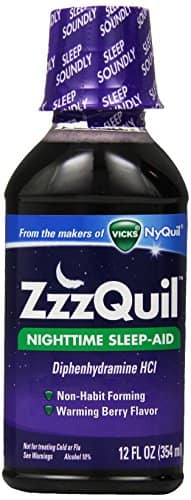 Prime Members: ZzzQuil Nighttime Sleep Aid, Warming Berry Flavor Liquid, 12 Oz $4.40 or less S&S + FS