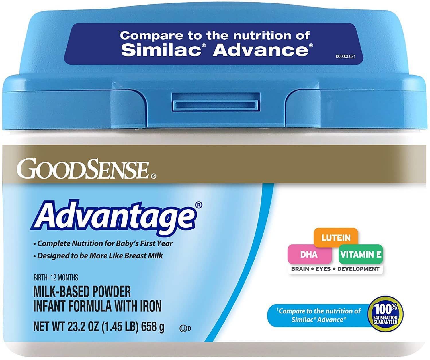 Prime Members: GoodSense Advantage Milk-Based Powder Infant Formula with Iron, 23.2 Ounce $3.45 or less S&S + FS