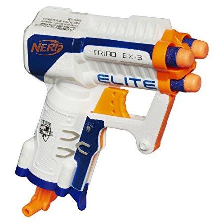 Nerf N-Strike Elite Triad EX-3 $3.79 Pickup Only Walmart