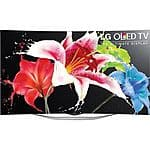 "LG 55EC9300 55"" Curved OLED Cinema 3D Smart TV 1080p, FS, No Tax in most states $1800"