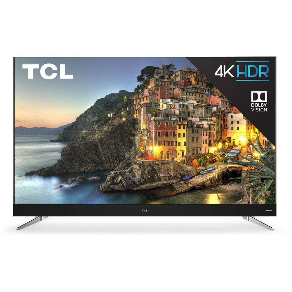 """TCL C-Series 55"""" ROKU Smart TV with 4K HD Resolution $387 Free Shipping No Tax After Coupon"""