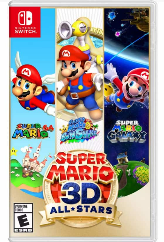 Super Mario 3D All-Stars - Nintendo Switch - $59.99 @ Target