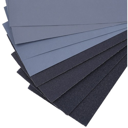 14 Pcs 120 to 3000 Grit Wet Dry Sandpaper Assortment 9 x 3.6 Inches for Auto Sanding $1.97