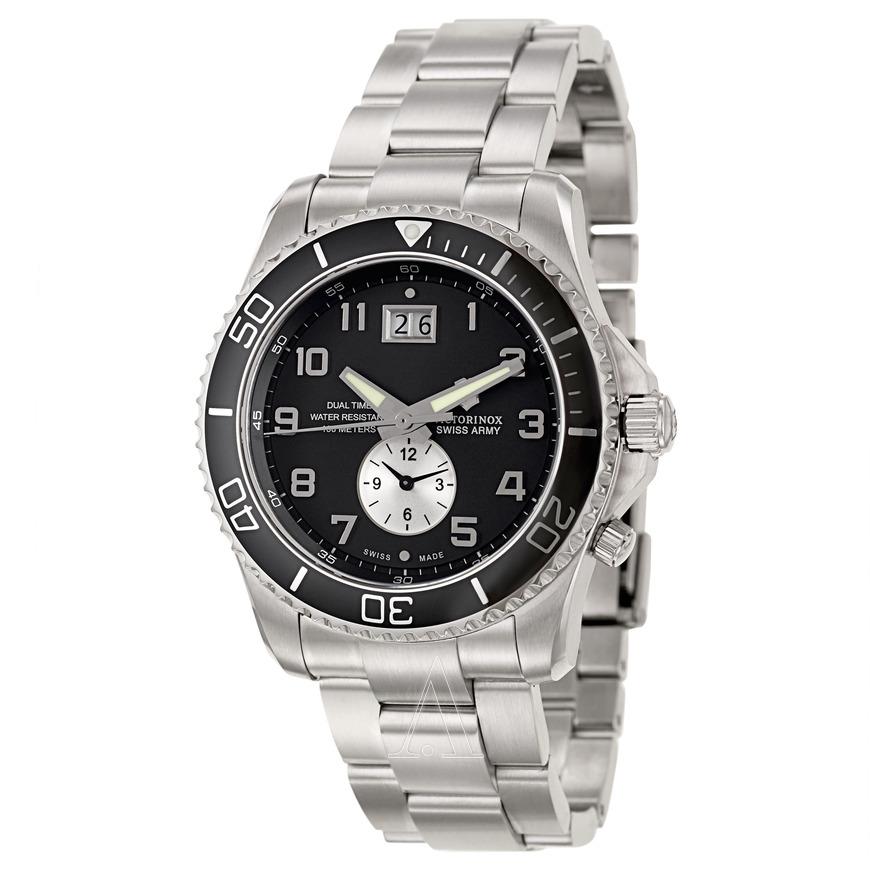 Victorinox Swiss Army Men's Classic Maverick GS Dual Time Watch 241441 $108.99
