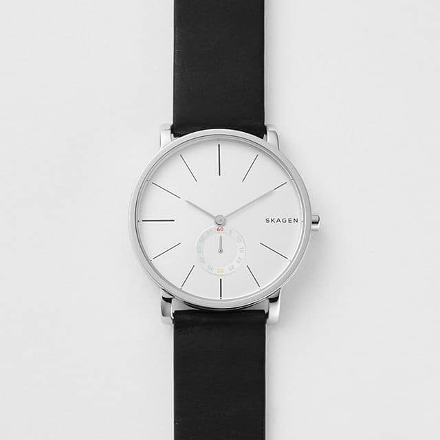 Skagen Hagen Leather Watch $29.99