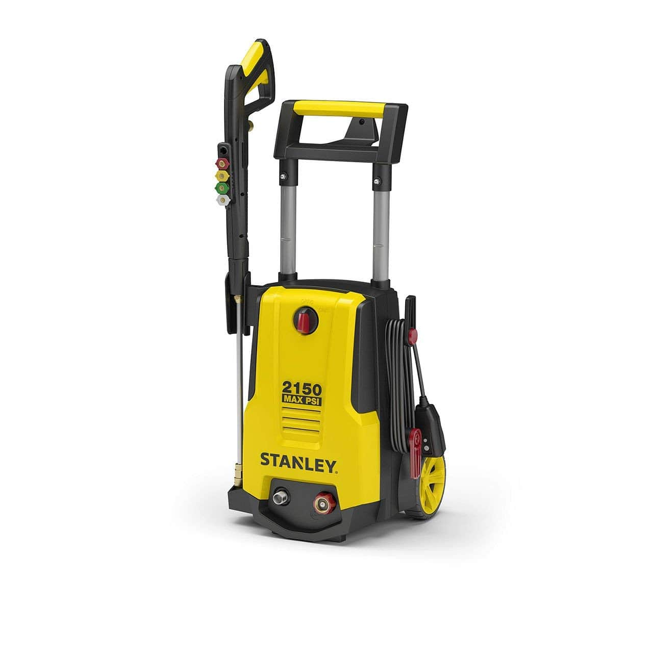 Stanley SHP2150 Electric Pressure Washer With Spray Gun, Medium, Yellow $118.12