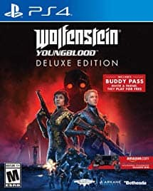 Wolfenstein: Youngblood - PlayStation 4 Deluxe Edition [Disc, Deluxe, PlayStation 4] $15