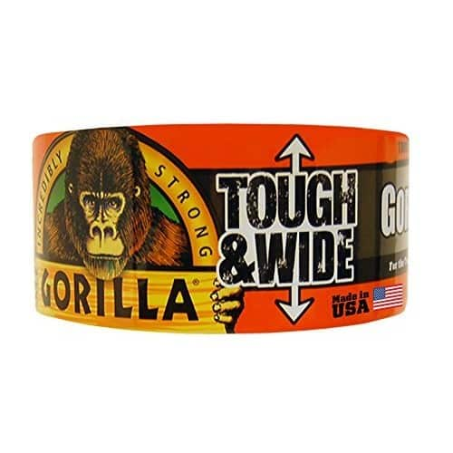 Amazon: Gorilla 6003001 Tough & Wide Duct Tape, 2.88-Inch x 30-Yards [1 Pack]  + FSSS $10.85