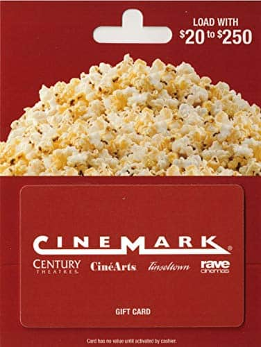 Amazon GC: Cinemark, PF Changs, and Firehouse Subs $40 (Updated)