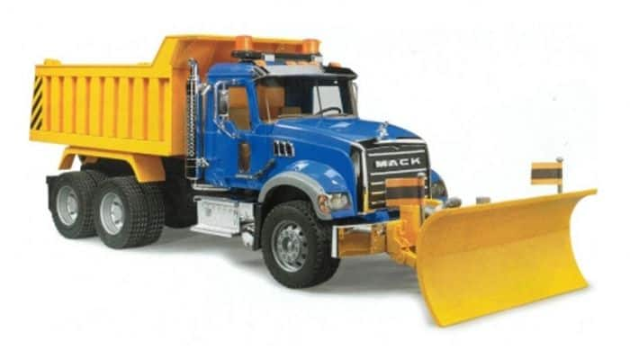 Bruder 2825 Mack Dump Truck w/Blade - $29 Store Pickup $28.99