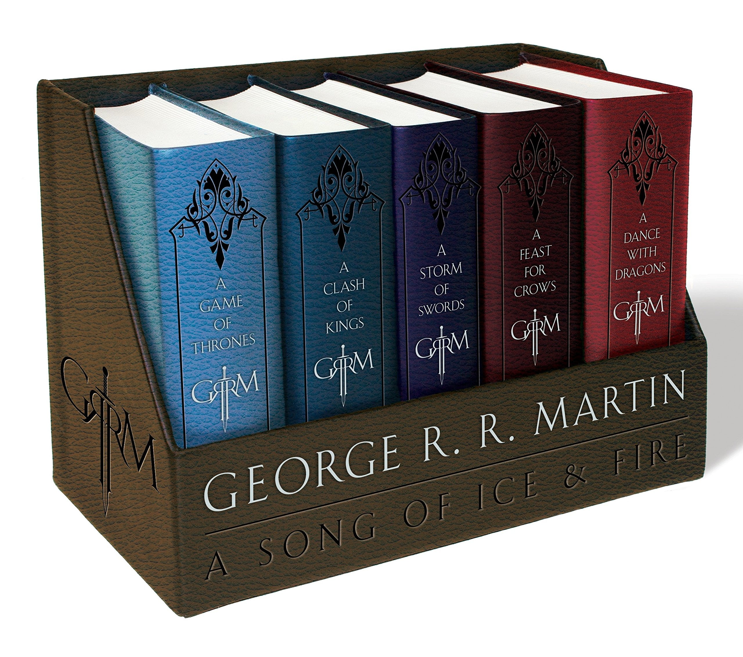 Game of Thrones (Song of Ice and Fire Series) : Leather Bound Books $39.48