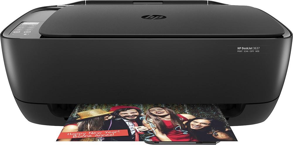 HP - DeskJet 3637 Wireless All-in-One Instant Ink Ready Printer $29.99