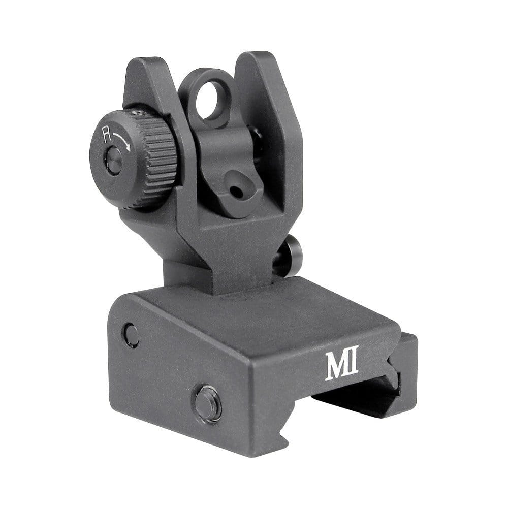 Midwest Industries Low Profile Flip Rear Sight, Black - $99.52 w/free shipping