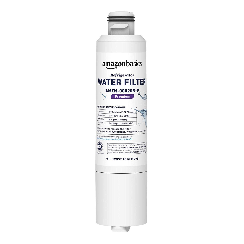 AmazonBasics Replacement Samsung DA29-00020B Refrigerator Water Filter - Premium Filtration $15.4