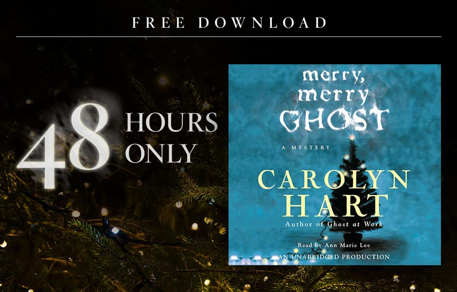Merry, Merry Ghost by Carolyn Hart AudioBook