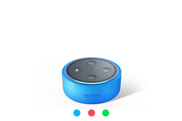 Amazon Echo Dot Kids Edition, with a year of FreeTime Unlimited, $80