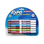 12/pk Expo® Dry-Erase Markers $6 + Free Store Pickup
