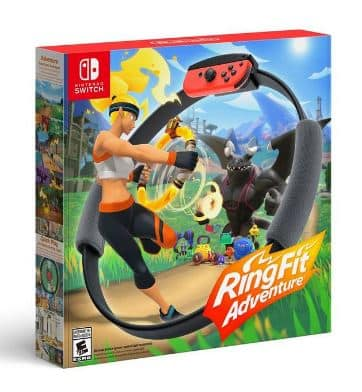 Ring fit adventure Gamestop $80