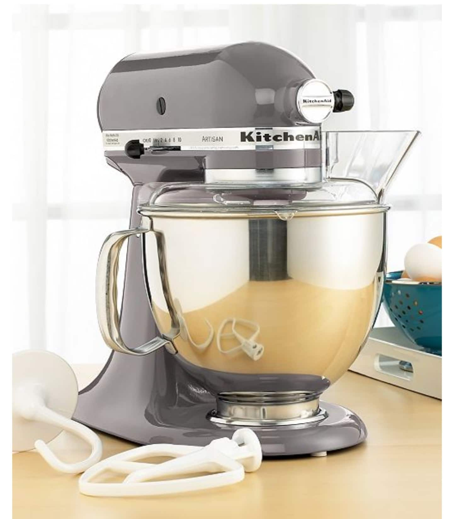 Kitchenaid Artisan 5qt Stand Mixer In Silver Metallic Only