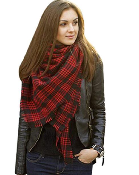 Moxeay Womens Blanket Oversized Scarf Wrap Shawl $10.38