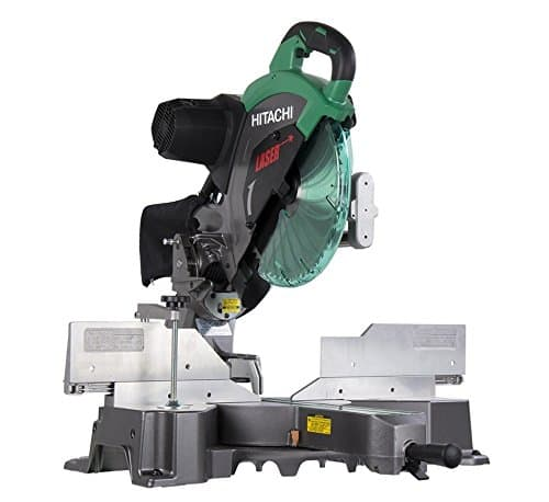 Hitachi C12RSH2 15-Amp 12-Inch Dual Bevel Sliding Compound Miter Saw with Laser Marker [Miter Saw Only] $299