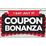 Michaels Coupon Bonanza 50% off  + 5 others 7/21 only