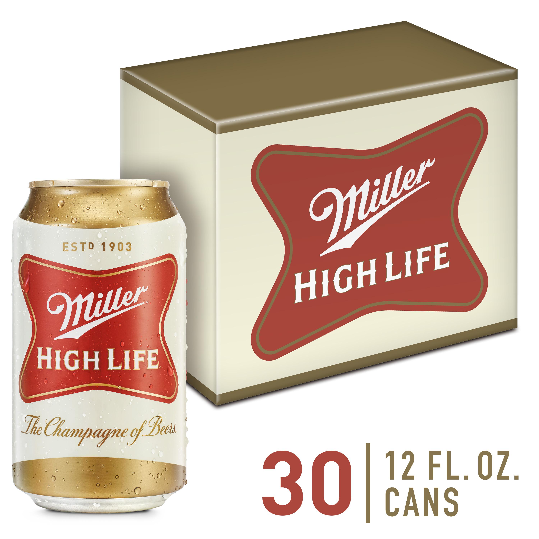Miller High Life Beer, American Lager, 30 Pack Beer, 12 fl. oz. Walmart YMMV 2$!?