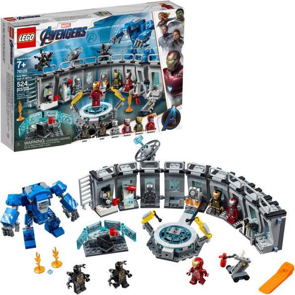 LEGO Marvel Avengers Iron Man Hall of Armor 76125 Building Kit - Tony Stark Action Figure  60% off. $23.97