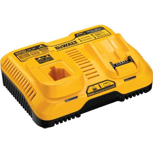 The DEWALT Combination Dual Port Fast Charger (DCB103) 18V and 20V.  $39.97 plus $9.99 shipping and taxes. $49.96
